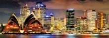 Panorama puzzle - Puzzle Panorama Sydney At Night Educa 1000 dielov od 12 rokov_0
