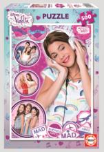 EDUCA 15770 Puzzle Disney Violetta, 500 ks + Fix Puzzle lepidlo