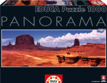 Puzzle Panorama Monument Valley USA Educa 1000 de piese de la 12 ani