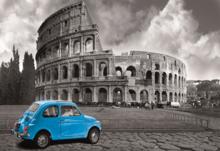 Puzzle miniatúrne - Puzzle Miniature Series - Coloseum Rome Educa 1000 dielov od 12 rokov_0