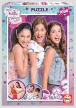 EDUCA 15858 Puzzle Disney Violetta, 1000 ks + Fix Puzzle lepidlo