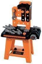 Szerelőműhely Black&Decker Écoiffier 27 kiegészítővel narancssárga-fekete