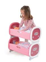 Postieľky a kolísky pre bábiky - Kolíska pre dve bábiky do 42 cm Baby Nurse Smoby poschodová od 24 mes_3