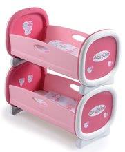 Postieľky a kolísky pre bábiky - Kolíska pre dve bábiky do 42 cm Baby Nurse Smoby poschodová od 24 mes_4