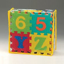 Staré položky - Puzzle ABC a čísla Lee 26 dielov ABC a 10 dielov čísla_0