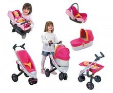 Set kočík pre bábiku Maxi Cosi & Quinny 3v1 Smoby (70 cm rúčka) a autosedačka Maxi Cosi & Quinny