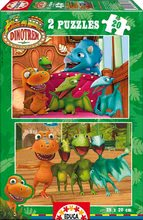 Puzzle pre deti Dinotren Educa 2x20 dielov