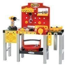 Szerelőműhely gyerekeknek Mecanics Écoiffier piros szerszámokkal 32 kiegészítővel 62 cm magas 18 hó kortól  64*29*62 cm ECO2350