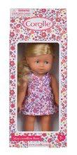 Hračky pro miminka - Panenka Mini Corolline Rosy Les Trendies Corolle s modrýma očima a růžové kytičky na šatech 20 cm od 3 let_5
