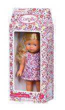 Hračky pro miminka - Panenka Mini Corolline Rosy Les Trendies Corolle s modrýma očima a růžové kytičky na šatech 20 cm od 3 let_6