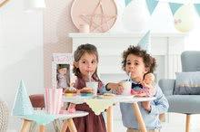 Hračky pro miminka - Panenka Mini Corolline Rosy Les Trendies Corolle s modrýma očima a růžové kytičky na šatech 20 cm od 3 let_3