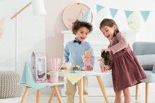 Hračky pro miminka - Panenka Mini Corolline Rosy Les Trendies Corolle s modrýma očima a růžové kytičky na šatech 20 cm od 3 let_4