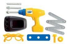 Náradie a nástroje - Pracovný kufrík Mecanics Écoiffier s vŕtačkou a náradím so 17 doplnkami modrý od 18 mes_0