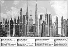 Puzzle 1000 dielne - Puzzle Genuine Tall Buildings Educa 1000 dielov od 12 rokov_3
