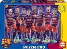 EDUCA 16844 puzzle cadboard FC BARCELONA 200 dielikov od 6 rokov
