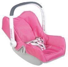 Smoby detská autosedačka pre bábiku Maxi Cosi&Quinny 240224 ružová