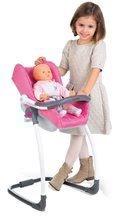 Kočíky pre bábiky sety - Set kočík pre bábiku Maxi-Cosi & Quinny Smoby (70 cm rúčka) a stolička, hojdačka a autosedačka pre bábiku_11