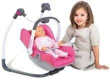 Kočíky pre bábiky sety - Set kočík pre bábiku Maxi-Cosi & Quinny Smoby (70 cm rúčka) a stolička, hojdačka a autosedačka pre bábiku_12