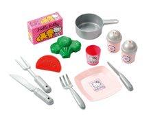Staré položky - Kuchynka Hello Kitty s riadom Écoiffier 15 doplnkov od 18 mes_3