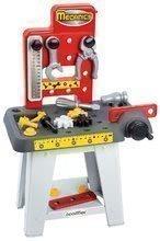 Pracovný stôl Mecanics Écoiffier s 12 doplnkami od 18 mes