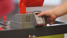 Obchody pre deti - Obchod SuperMarket Smoby s vozíkom a 49 doplnkami_3