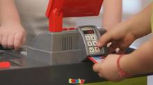 Obchody pre deti - Obchod SuperMarket Smoby s vozíkom a 49 doplnkami_4