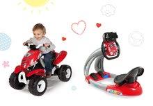 Szett elektronikus szimulátor gyerekeknek V8 Driver Smoby hanggal fénnyel és elektronikus négykerekű X Power