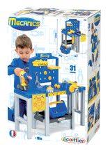 Pracovná detská dielňa - Pracovná dielňa Mecanics Écoiffier skladacia s 31 doplnkami od 18 mes_13