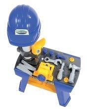 Pracovná detská dielňa - Pracovná dielňa Mecanics Écoiffier s prilbou s 25 doplnkami od 18 mes_4