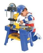 Pracovná detská dielňa - Pracovná dielňa Mecanics Écoiffier s prilbou s 25 doplnkami od 18 mes_5