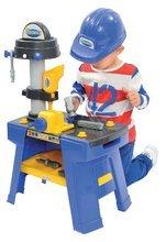 Pracovná detská dielňa - Pracovná dielňa Mecanics Écoiffier s prilbou s 25 doplnkami od 18 mes_6