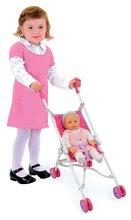 Kočíky od 18 mesiacov - Kočík pre bábiku Princezné Smoby skladací (57,5 cm rúčka) od 18 mes_0