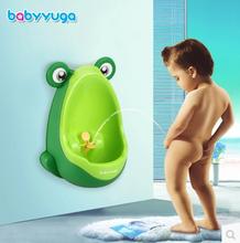 Nočníky a redukcie na toaletu - Pisoár Žaba BabyYuga modrý_4