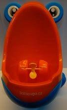 Detský pisoár Žaba BabyYuga modro-oranžový