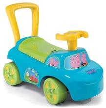 Odrážedlo a chodítko Auto 2v1 Prasátko Peppa Pig Smoby od 10 měsíců modré