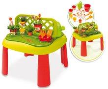 Staré položky - Set šmykľavka Máša a medveď Smoby Toboggan XS dĺžka 90 cm a stôl Záhradník De Jardinage 2v1 od 24 mes_8