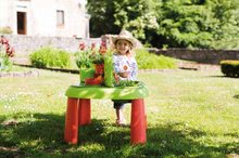 Staré položky - Set šmykľavka Máša a medveď Smoby Toboggan XS dĺžka 90 cm a stôl Záhradník De Jardinage 2v1 od 24 mes_14