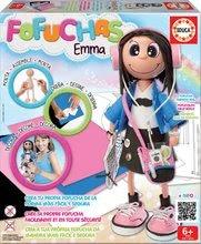 EDUCA 16864 FOFUCHAS EMMA brazílska štýlová školácka bábika Kamoška - obleč ju sama od 6 rokov