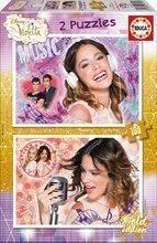 Detské puzzle Disney Violetta Educa 2x100 dielov od 5 rokov