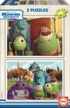 Detské puzzle Disney Príšerky s. r. o. Educa 2x48 dielov