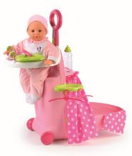 Opatrovateľský kufrík Minnie Nursery Smoby pre bábiku od 18 mesiacov so 6 doplnkami