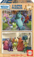 Drevené puzzle Príšerky s. r. o. Educa 2x50 dielov od 5 rokov