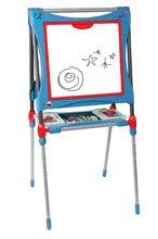 SMOBY 410202 állítható kétoldalú mágneses tanuló rajztábla + szekrény 60 kiegészítővel 3 éves kortól
