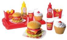 Kuchynky pre deti sety - Set kuchynka Tefal French Touch Bublinky&Voda Smoby s magickým bublaním, hamburger set a košík s potravinami_6