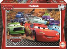 Dětské puzzle od 100–300 dílků - Puzzle Disney Auta Educa 200 dílů od 6 let_1