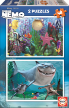 Otroške puzzle Disney Reševanje malega Nema Educa 2x48 delov
