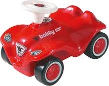 Autíčko pre deti New Mini Bobby BIG na naťahovanie dĺžka 8 cm od 12 mesiacov červené