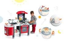 Smoby 311300-21 set červená kuchyňka Tefal Superchef s grilem a tlakový hrnec Tefal