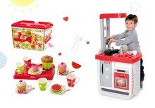 Kuchynky pre deti sety - Set kuchynka Bon Appétit Smoby so zvukmi a kávovarom a čajová súprava s táckou 100% Chef_17
