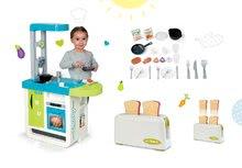 Kuchynky pre deti sety - Set kuchynka Cherry Kitchen Smoby so zvukmi a kávovarom, hriankovačom a čajovou súpravou_21